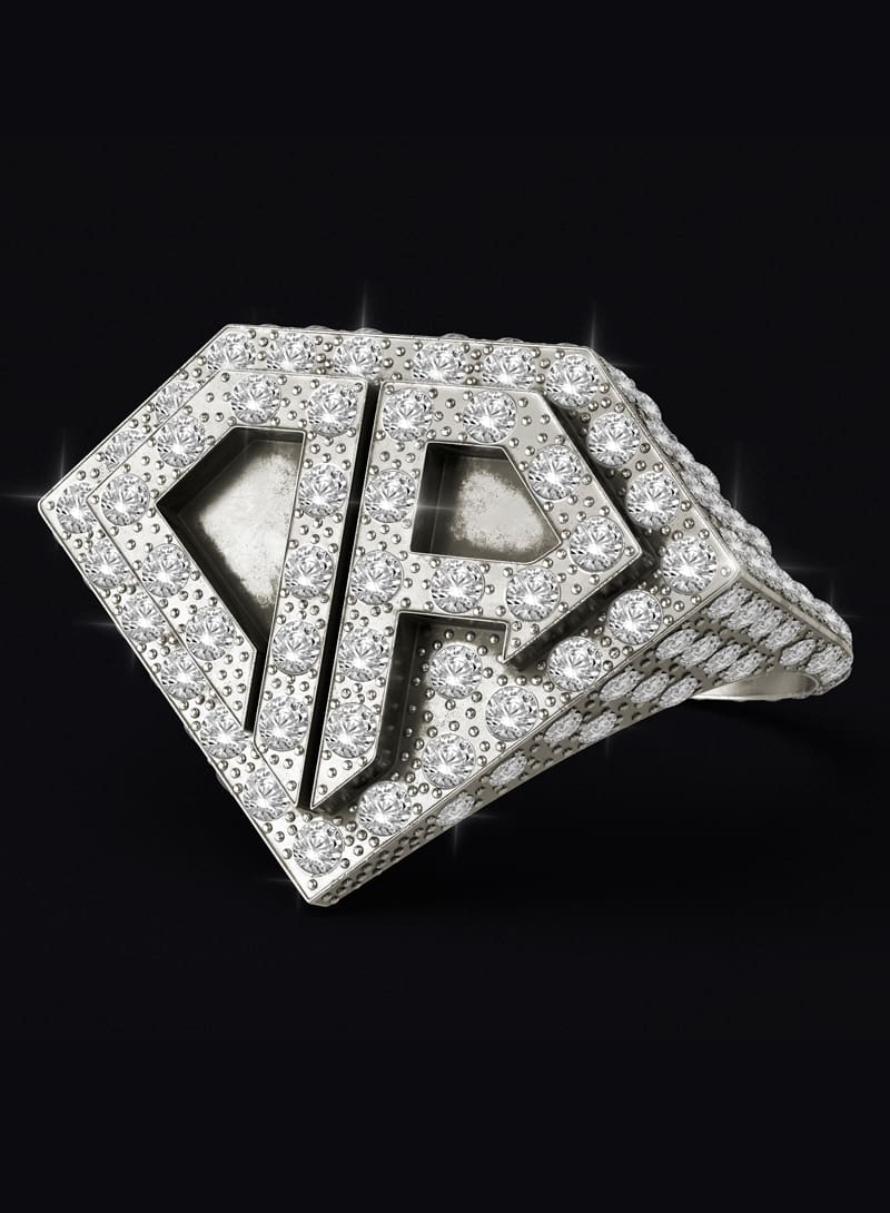 Anillo 0800 Don Rouch Pave Full Ice Plata